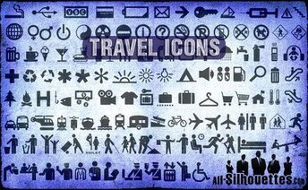 121 Travel Icons