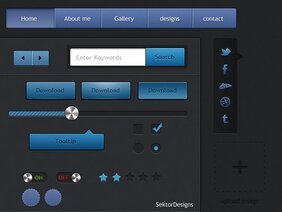 User-interface GUI