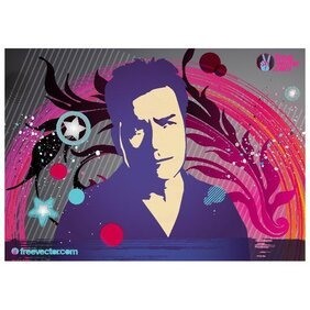 CHARLIE SHEEN FREE VECTOR IKMAGE.ai