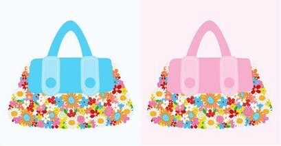 Vector Bag Flowers