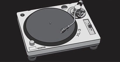 Turntable Vector Art
