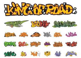Graffiti stukken Graphics