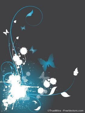 Flourish Splash Background