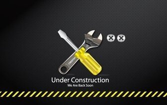Under Construction Tools Icon