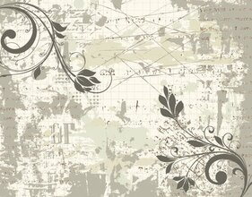 Classic Hand-painted Pattern 03- Vector Material Classic Shading Background
