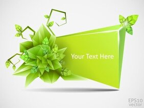 Cool Threedimensional Graphics Vector 5