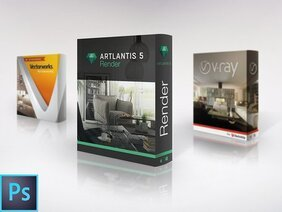 Free Software Box PSD