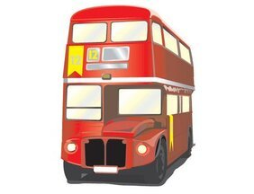 London Bus vettoriali gratis