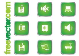 Green Technology Icons