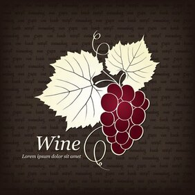 Red Wine Illustrator