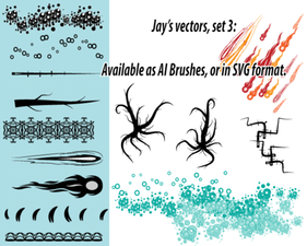AI Scatter en Art Brushes Set