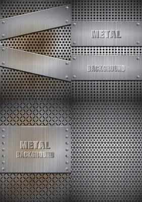 Realistic steel material