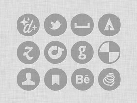 Free Mini Vector & Custom Shape Icon Set