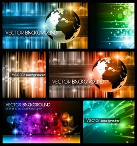Colorful trend of dynamic background 01