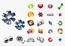 Shiny Icon Set