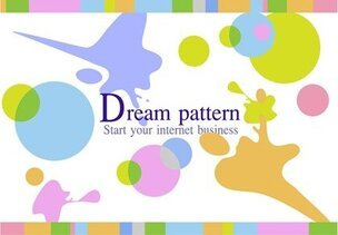 Free Vector Dream Pattern Background