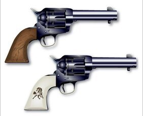 Free Colt Six shooter Vectors