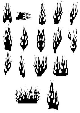 Vector fire a variety of cool patterns (1)