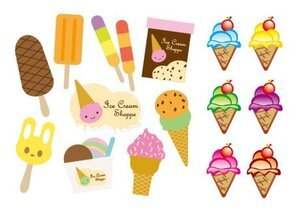 Cute ice cream