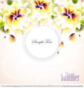 Summer Hawaiian Flower Vectors