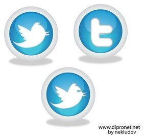 Icons Twitter Vector Beta1