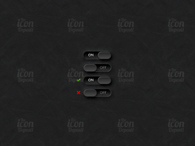 On/Off Toggle Switch GUI