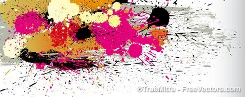 Dirty Splatter Background