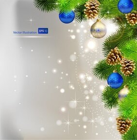 Christmas Background Ball