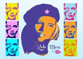 Kate Moss Pop Art