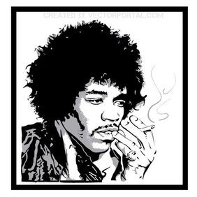 JIMMY HENDRIX VECTOR PORTRAIT.eps