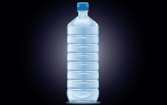 Bottle Mineral Water Filled