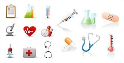Medical-related icons