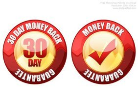 PSD 30 day money back guarantee seal