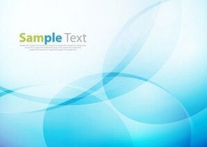 Abstract Design Blue Background Vector Illustration Art