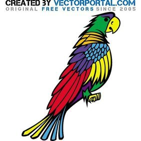 PARROT VECTOR GRAPHICS.eps