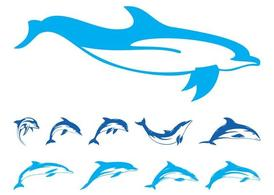 Dolphins Graphics Set