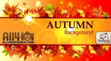 Vector Autumn Template