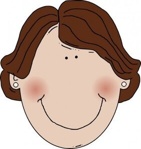 Middle Aged Woman Brown Hair