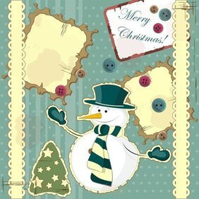 Snowman Decoration Painting 02