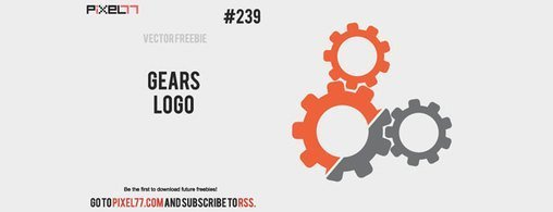Free Vector Gears