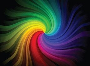 Free Abstract Colorful Rainbow