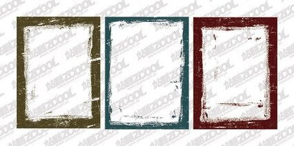 Border-style vector ink material