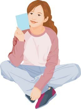 Sit girl position vector 10