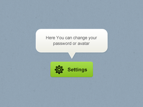 Button + tooltip