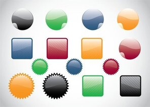 Web Buttons Vectors