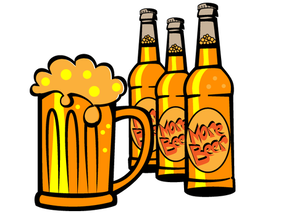 Free Beer Bottle Vector