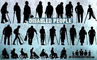 25 Disabled people