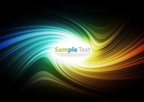Vector Smooth Colorful Abstract Background