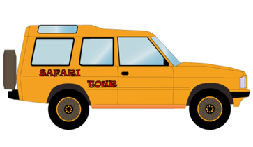 Safari Off Road Car Vector Free