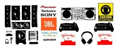 Audio equipment and audio brand LOGO